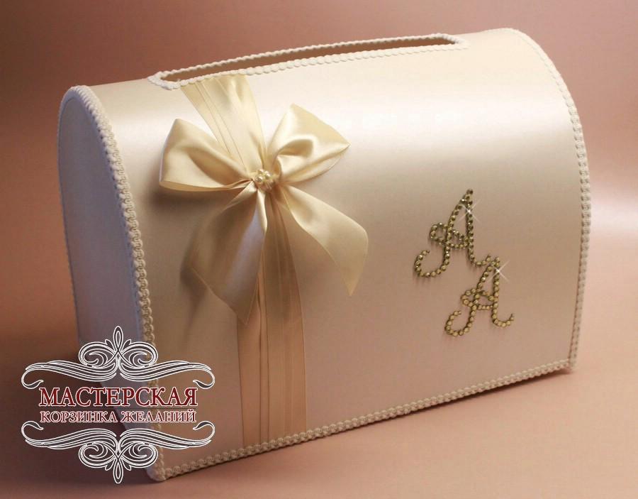 Свадебный коробок для денег своими руками